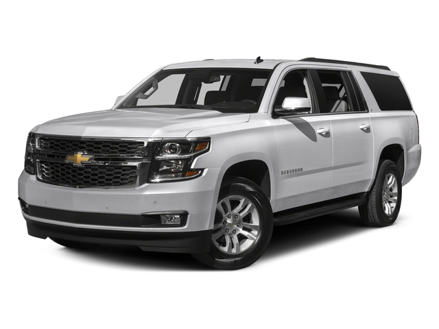 Summit White 2016 Chevrolet Suburban Pictures Suburban Utility 4D LT 4WD V8 photos front view