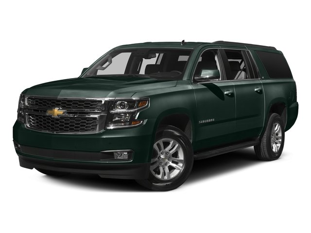 Green Envy Metallic 2016 Chevrolet Suburban Pictures Suburban Utility 4D LT 4WD V8 photos front view