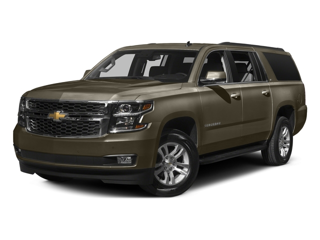 Brownstone Metallic 2016 Chevrolet Suburban Pictures Suburban Utility 4D LT 4WD V8 photos front view