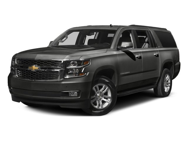 Tungsten Metallic 2016 Chevrolet Suburban Pictures Suburban Utility 4D LT 4WD V8 photos front view