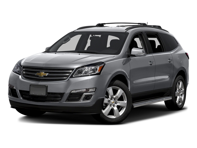 Silver Ice Metallic 2016 Chevrolet Traverse Pictures Traverse Utility 4D LT AWD V6 photos front view