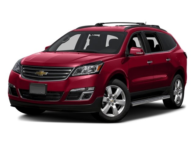 Siren Red Tintcoat 2016 Chevrolet Traverse Pictures Traverse Utility 4D LT AWD V6 photos front view