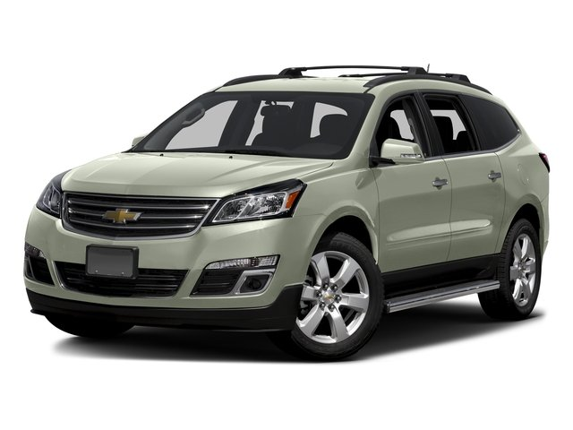 Iridescent Pearl Tricoat 2016 Chevrolet Traverse Pictures Traverse Utility 4D LT AWD V6 photos front view