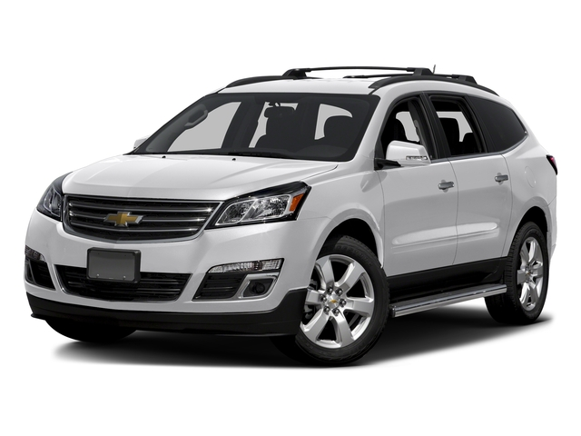 Summit White 2016 Chevrolet Traverse Pictures Traverse Utility 4D LT AWD V6 photos front view