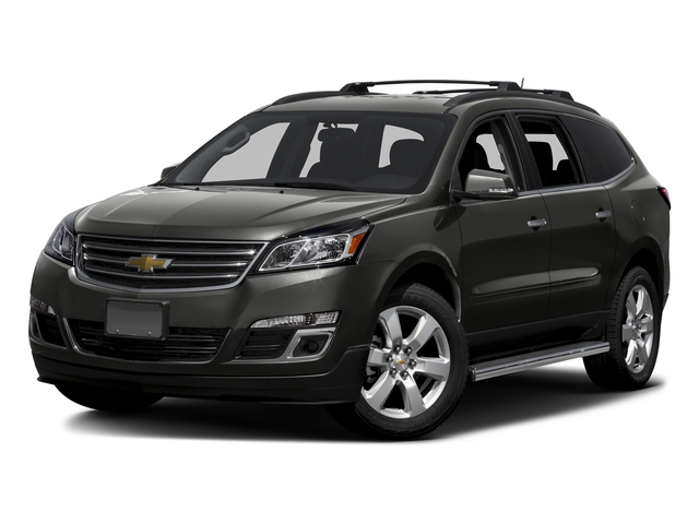 Tungsten Metallic 2016 Chevrolet Traverse Pictures Traverse Utility 4D LT AWD V6 photos front view