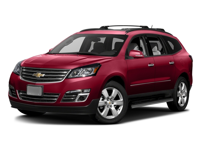 Siren Red Tintcoat 2016 Chevrolet Traverse Pictures Traverse Utility 4D LTZ 2WD V6 photos front view