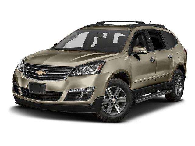 Champagne Silver Metallic 2016 Chevrolet Traverse Pictures Traverse Utility 4D 2LT AWD V6 photos front view