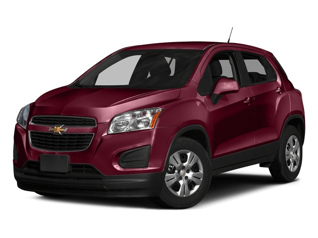 Crimson Metallic 2016 Chevrolet Trax Pictures Trax Utility 4D LS AWD I4 Turbo photos front view