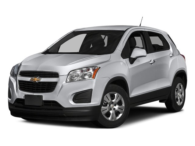 Silver Ice Metallic 2016 Chevrolet Trax Pictures Trax Utility 4D LS AWD I4 Turbo photos front view