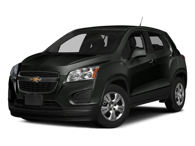 Black Granite Metallic 2016 Chevrolet Trax Pictures Trax Utility 4D LS AWD I4 Turbo photos front view