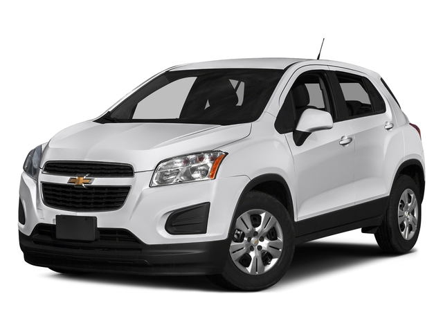 Summit White 2016 Chevrolet Trax Pictures Trax Utility 4D LS AWD I4 Turbo photos front view