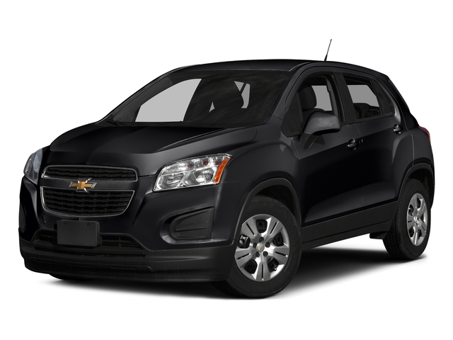 Mosaic Black Metallic 2016 Chevrolet Trax Pictures Trax Utility 4D LS AWD I4 Turbo photos front view
