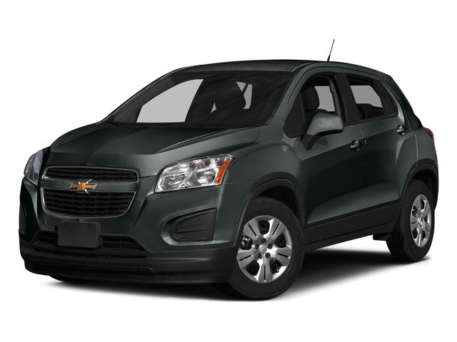 Cyber Gray Metallic 2016 Chevrolet Trax Pictures Trax Utility 4D LS AWD I4 Turbo photos front view