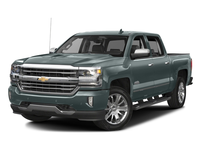 Slate Grey Metallic 2016 Chevrolet Silverado 1500 Pictures Silverado 1500 Crew Cab High Country 2WD photos front view