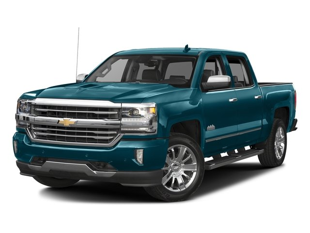 Deep Ocean Blue Metallic 2016 Chevrolet Silverado 1500 Pictures Silverado 1500 Crew Cab High Country 2WD photos front view