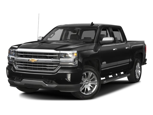 Black 2016 Chevrolet Silverado 1500 Pictures Silverado 1500 Crew Cab High Country 2WD photos front view