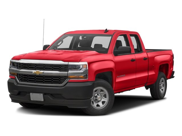Red Hot 2016 Chevrolet Silverado 1500 Pictures Silverado 1500 Extended Cab Work Truck 4WD photos front view