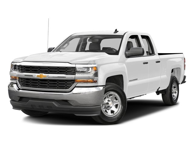 Summit White 2016 Chevrolet Silverado 1500 Pictures Silverado 1500 Extended Cab LS 4WD photos front view
