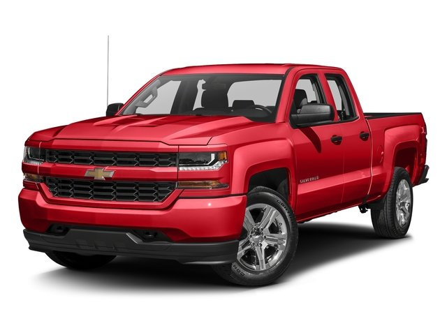 Red Hot 2016 Chevrolet Silverado 1500 Pictures Silverado 1500 Extended Cab Custom 2WD photos front view