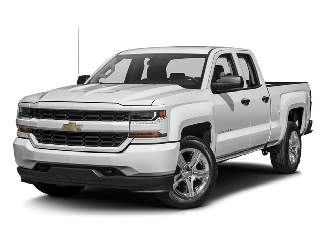 Summit White 2016 Chevrolet Silverado 1500 Pictures Silverado 1500 Extended Cab Custom 2WD photos front view