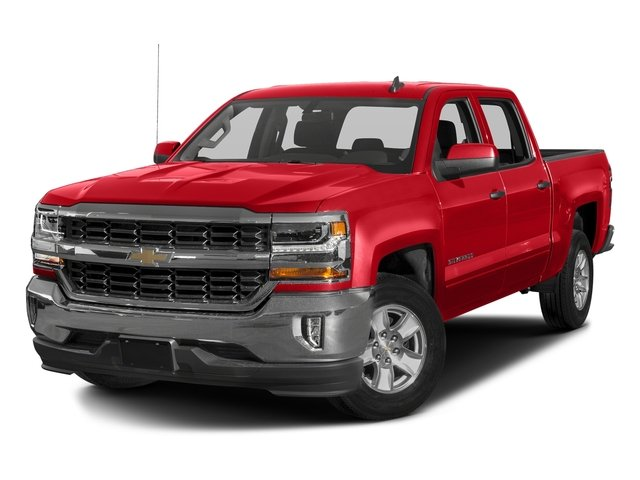 Red Hot 2016 Chevrolet Silverado 1500 Pictures Silverado 1500 Crew Cab Custom 2WD photos front view