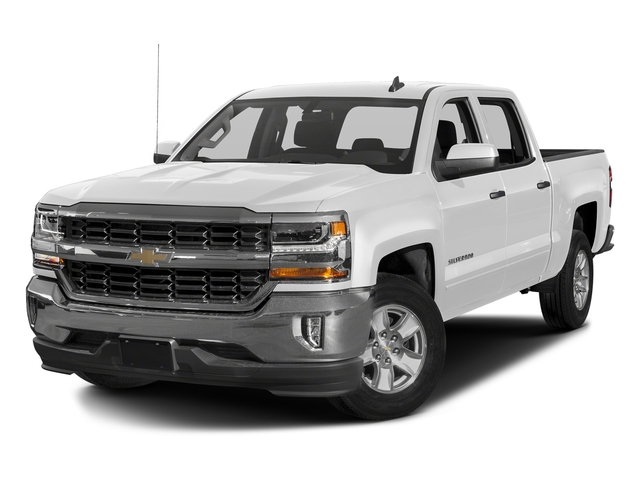 Summit White 2016 Chevrolet Silverado 1500 Pictures Silverado 1500 Crew Cab Custom 2WD photos front view