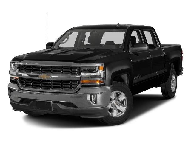 Black 2016 Chevrolet Silverado 1500 Pictures Silverado 1500 Crew Cab Custom 2WD photos front view