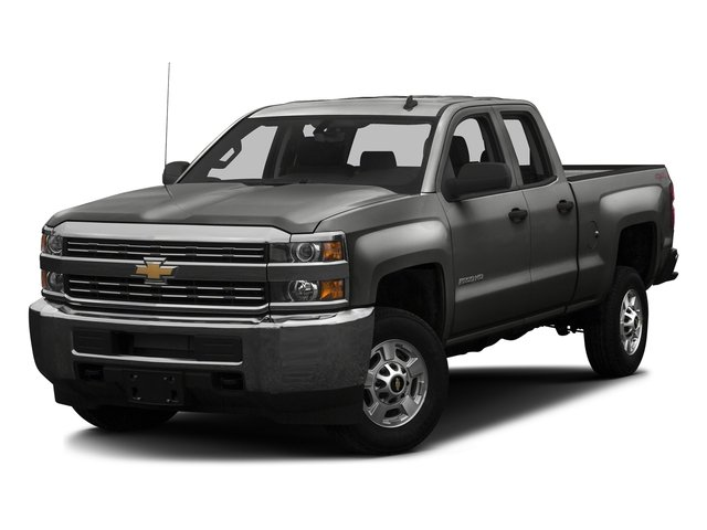 Tungsten Metallic 2016 Chevrolet Silverado 2500HD Pictures Silverado 2500HD Extended Cab LT 4WD photos front view