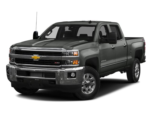 Slate Grey Metallic 2016 Chevrolet Silverado 2500HD Pictures Silverado 2500HD Crew Cab LTZ 2WD photos front view