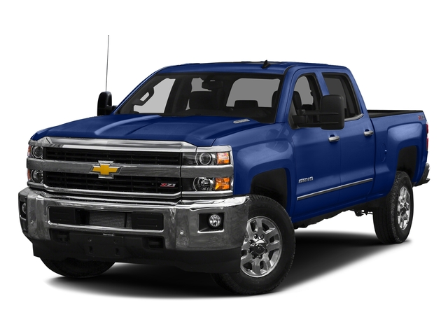 Deep Ocean Blue Metallic 2016 Chevrolet Silverado 2500HD Pictures Silverado 2500HD Crew Cab LTZ 2WD photos front view