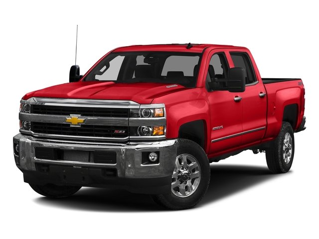 Red Hot 2016 Chevrolet Silverado 2500HD Pictures Silverado 2500HD Crew Cab LTZ 2WD photos front view