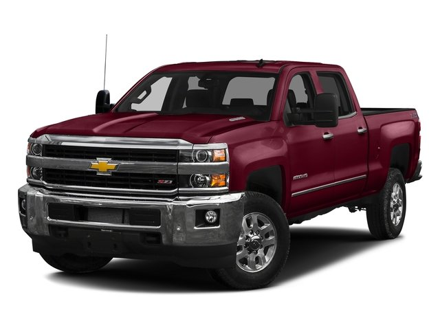 Butte Red Metallic 2016 Chevrolet Silverado 2500HD Pictures Silverado 2500HD Crew Cab LTZ 2WD photos front view