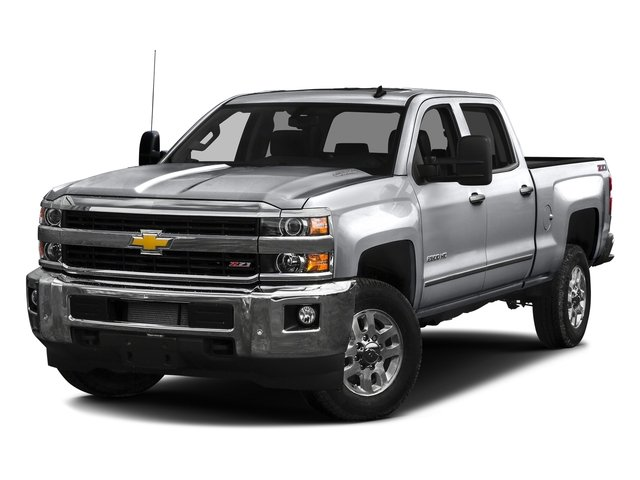 Silver Ice Metallic 2016 Chevrolet Silverado 2500HD Pictures Silverado 2500HD Crew Cab LTZ 2WD photos front view