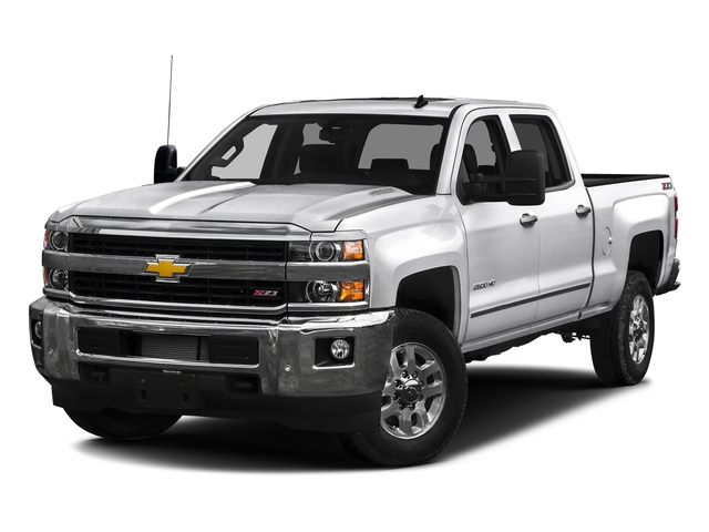 Summit White 2016 Chevrolet Silverado 2500HD Pictures Silverado 2500HD Crew Cab LTZ 2WD photos front view