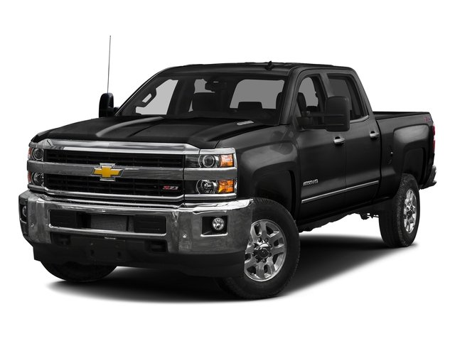 Black 2016 Chevrolet Silverado 2500HD Pictures Silverado 2500HD Crew Cab LTZ 2WD photos front view