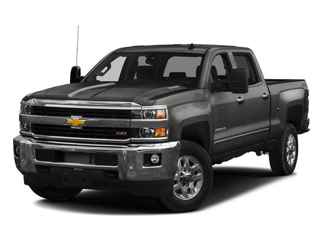 Tungsten Metallic 2016 Chevrolet Silverado 2500HD Pictures Silverado 2500HD Crew Cab LTZ 2WD photos front view