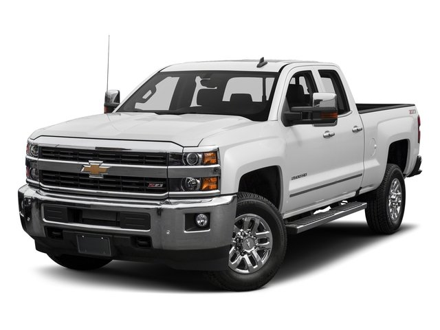 Summit White 2016 Chevrolet Silverado 2500HD Pictures Silverado 2500HD Extended Cab LTZ 4WD photos front view