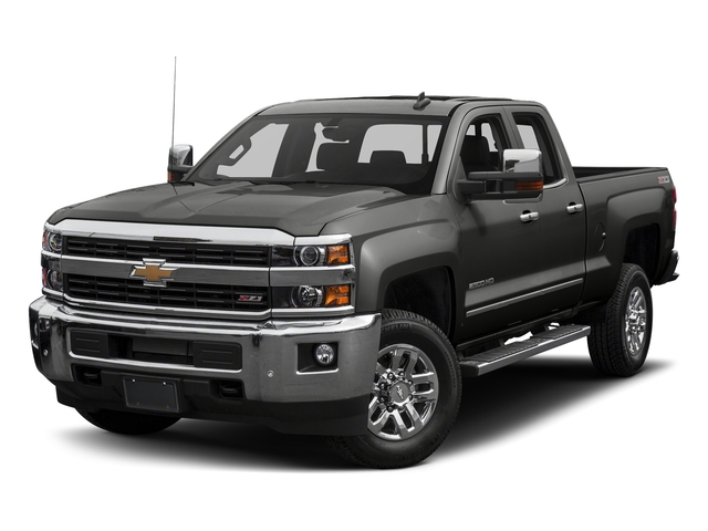 Tungsten Metallic 2016 Chevrolet Silverado 2500HD Pictures Silverado 2500HD Extended Cab LTZ 4WD photos front view
