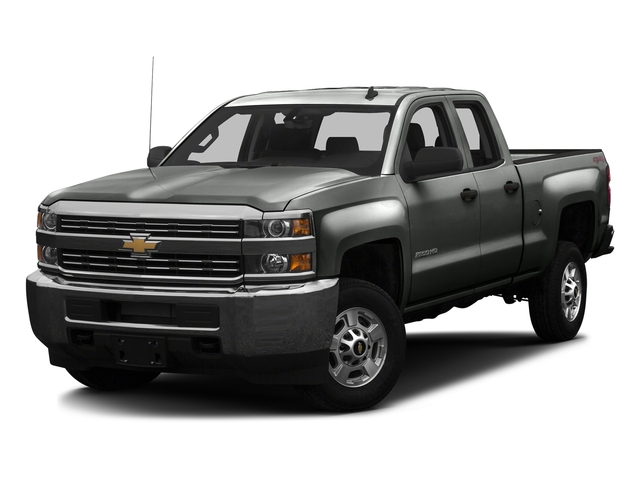 Slate Grey Metallic 2016 Chevrolet Silverado 2500HD Pictures Silverado 2500HD Extended Cab Work Truck 4WD photos front view