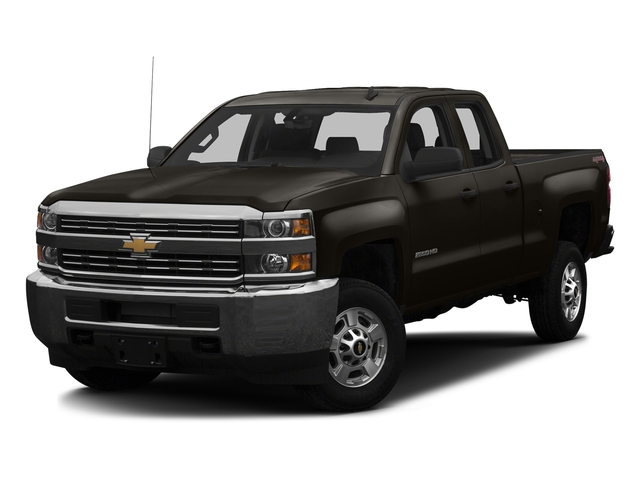 Autumn Bronze Metallic 2016 Chevrolet Silverado 2500HD Pictures Silverado 2500HD Extended Cab Work Truck 4WD photos front view