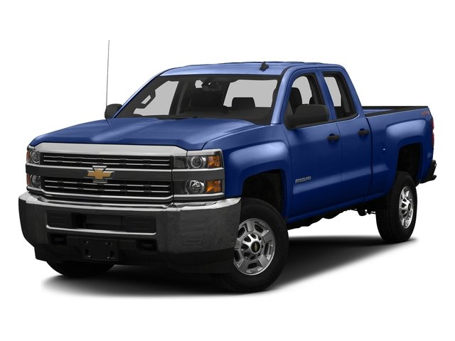 Deep Ocean Blue Metallic 2016 Chevrolet Silverado 2500HD Pictures Silverado 2500HD Extended Cab Work Truck 2WD photos front view