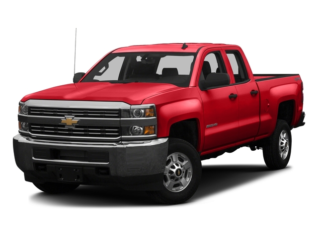 Red Hot 2016 Chevrolet Silverado 2500HD Pictures Silverado 2500HD Extended Cab Work Truck 4WD photos front view