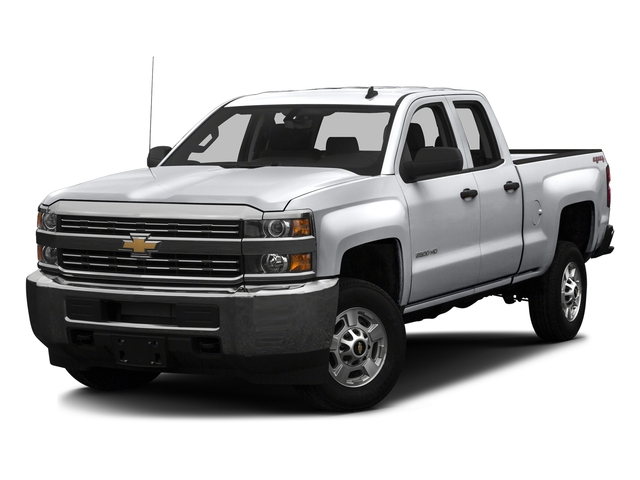 Silver Ice Metallic 2016 Chevrolet Silverado 2500HD Pictures Silverado 2500HD Extended Cab Work Truck 4WD photos front view