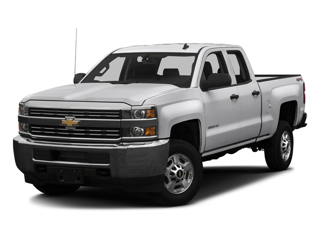 Summit White 2016 Chevrolet Silverado 2500HD Pictures Silverado 2500HD Extended Cab Work Truck 4WD photos front view