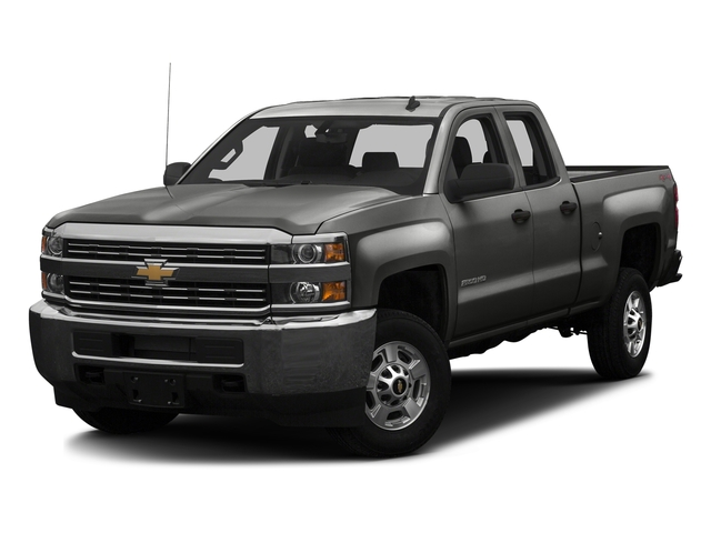Tungsten Metallic 2016 Chevrolet Silverado 2500HD Pictures Silverado 2500HD Extended Cab Work Truck 4WD photos front view