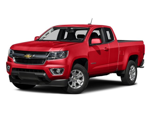 Red Hot 2016 Chevrolet Colorado Pictures Colorado Extended Cab LT 4WD photos front view