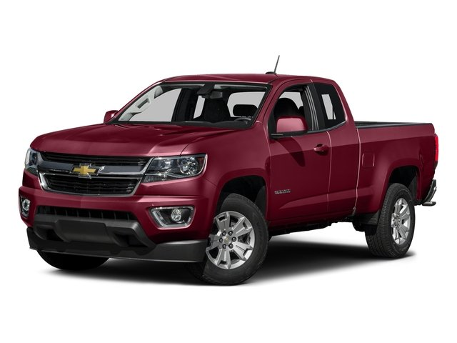 Red Rock Metallic 2016 Chevrolet Colorado Pictures Colorado Extended Cab LT 4WD photos front view