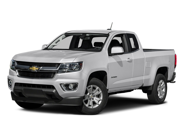 Summit White 2016 Chevrolet Colorado Pictures Colorado Extended Cab LT 2WD photos front view