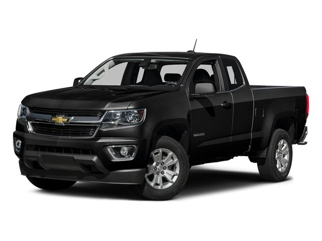 Black 2016 Chevrolet Colorado Pictures Colorado Extended Cab LT 4WD photos front view