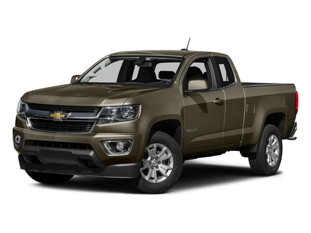 Brownstone Metallic 2016 Chevrolet Colorado Pictures Colorado Extended Cab LT 4WD photos front view